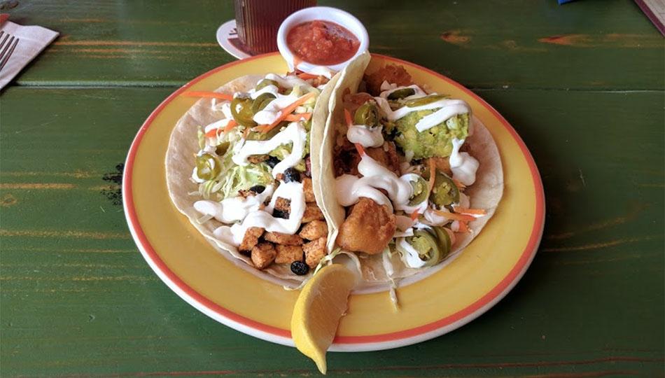 Humpy's Kona Fish Tacos