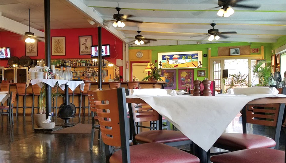 Jackie Rey's Ohana Grill Seating in their Kona Restaurant