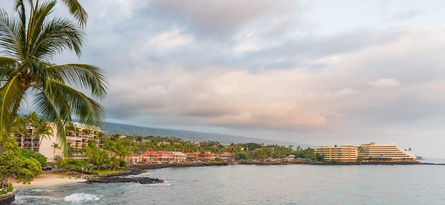 Kailua Kona Hawaii, on the Big Island,