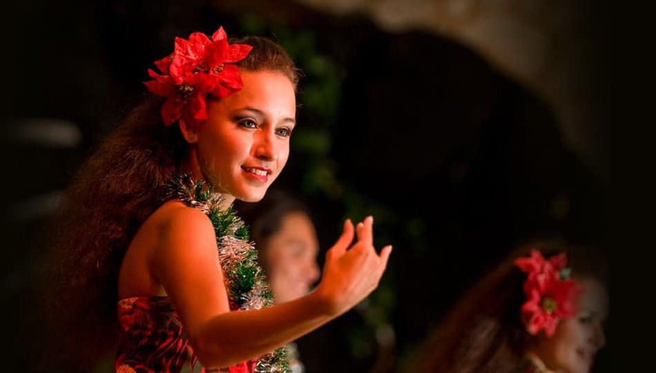 Legends of Hawaii Luau Hula Dancer
