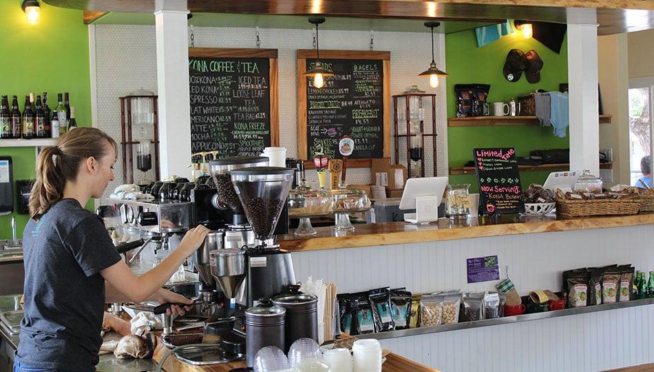 Kona Coffee and Tea Counter