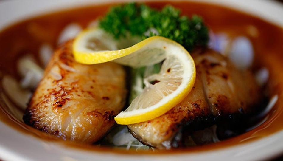 Shiono Sushi Restaurant Butterfish Dish