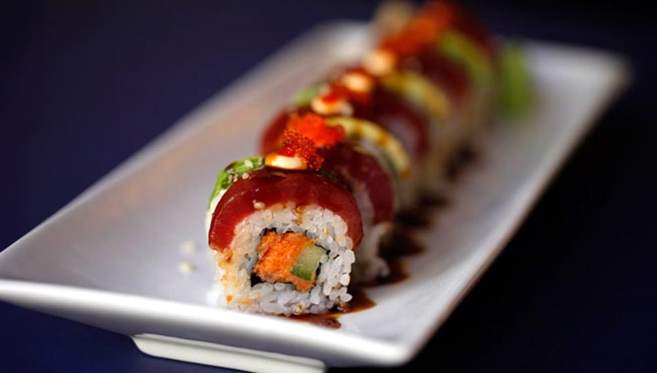 Shiono Sushi Restaurant Dragon Roll