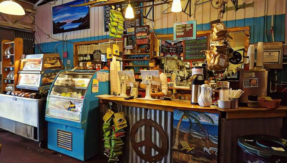 The Tin Shack Bakery Counter