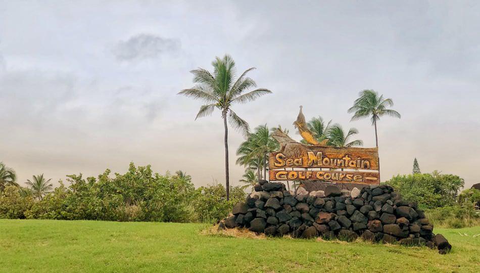 Sea Mountain Golf Course Sign