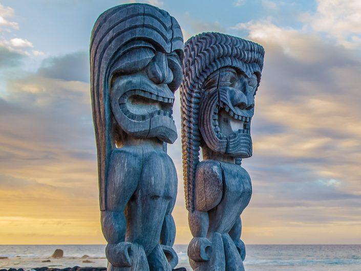 Puuhonua o honaunau is among the most popular Kona area national and state parks