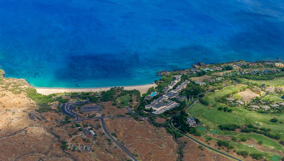 Aerial View of the Westin Hapuna Beach Resort
