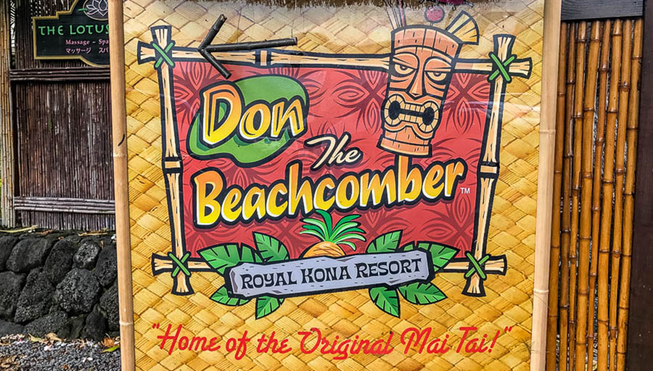 Don the Beachcomber in Kona has a great Happy Hour