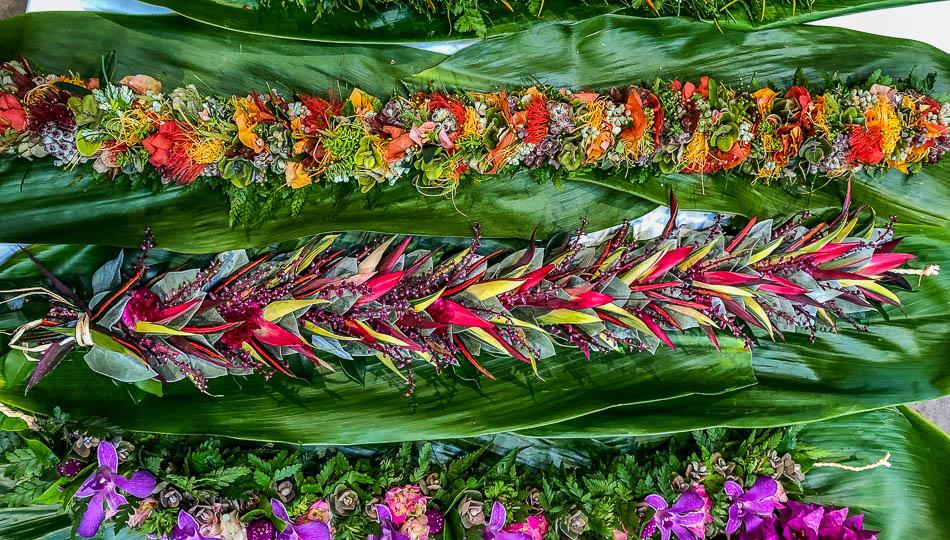 Beautiful Hand Made Leis from Big Island Hawaii