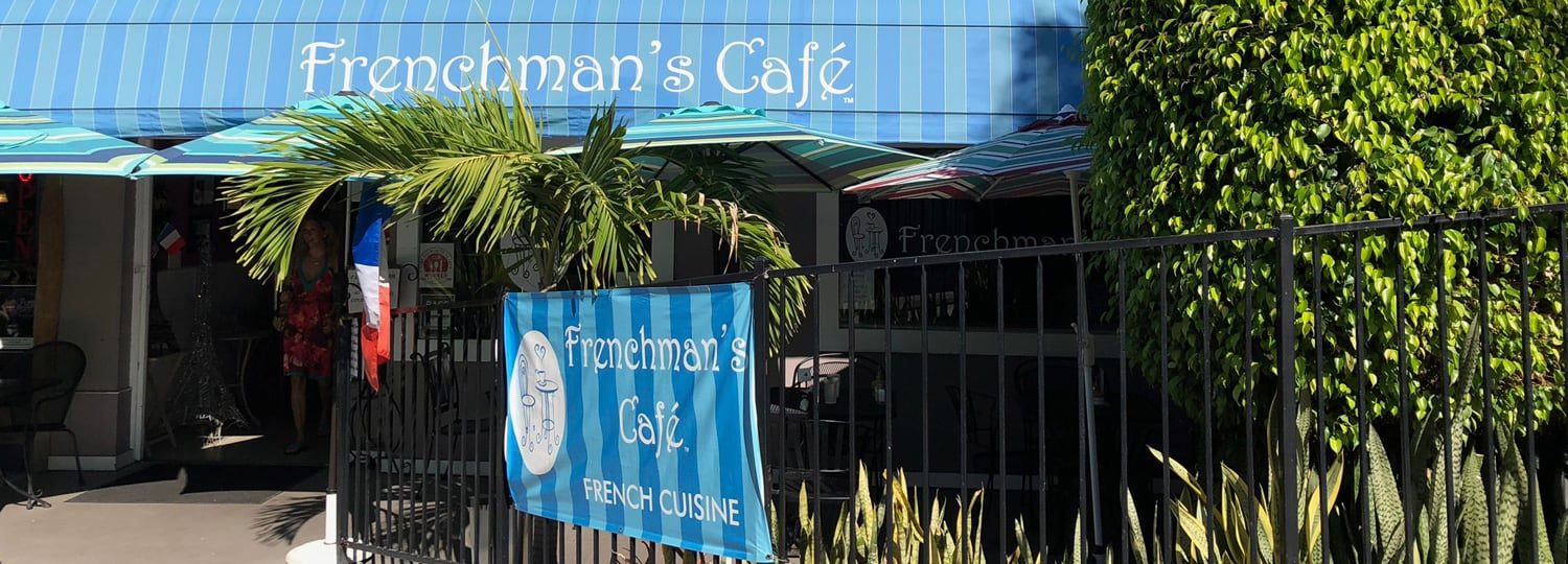 Frenchman's Cafe in Kona Hawaii