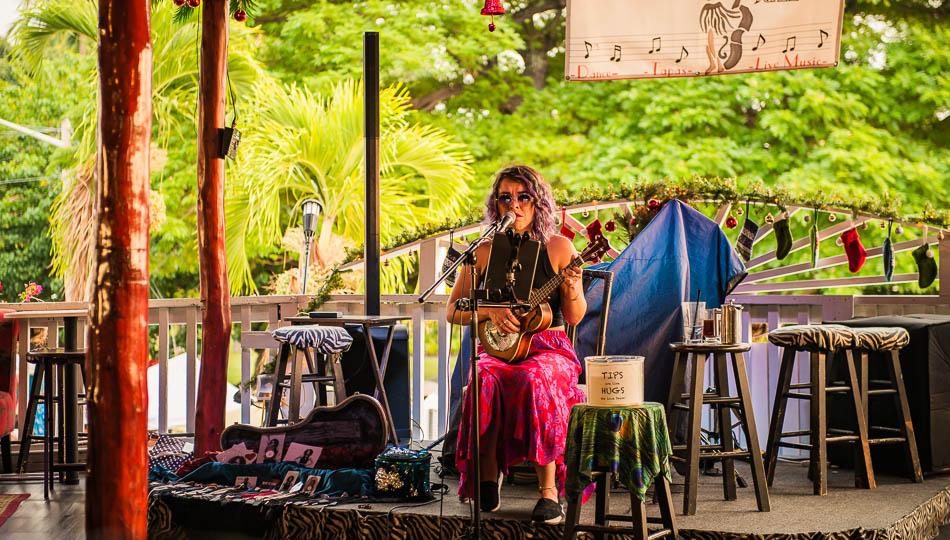 Gertrude's Jazz Bar musician