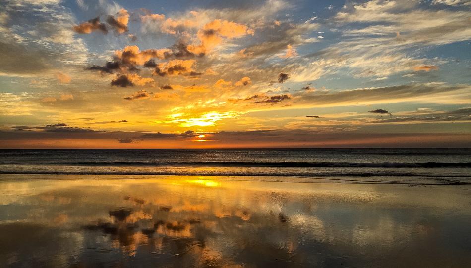 Sunset Photo over Hapuna Beach