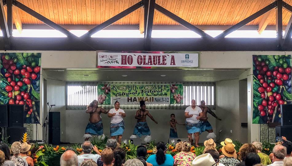 Kona Coffee Festival Dancers