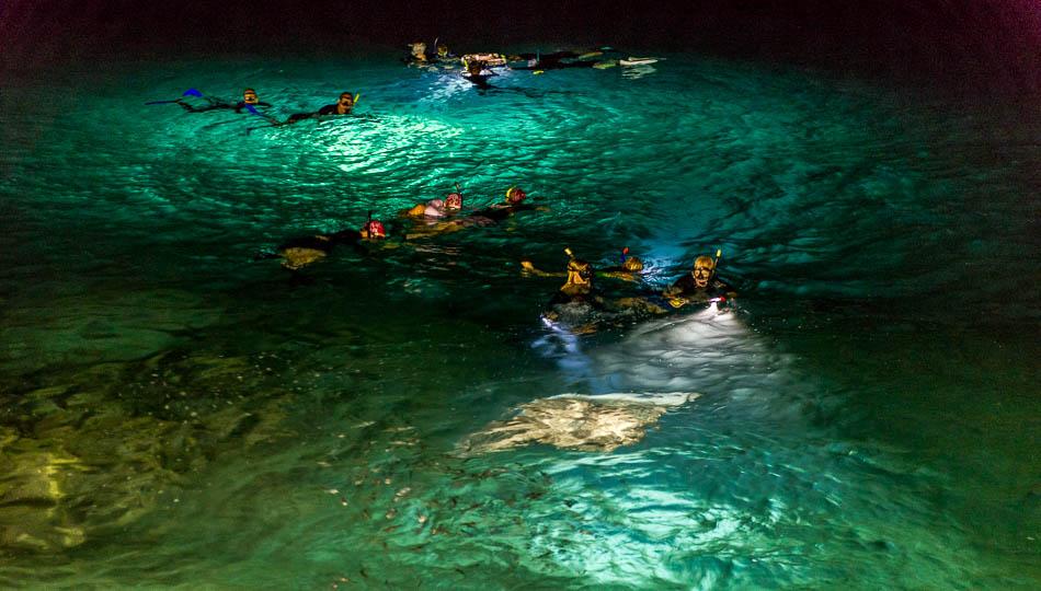 Manta Rays at Mauna Kea Beach Resort