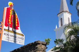 Mokuaikaua Church a Kona Historical Site