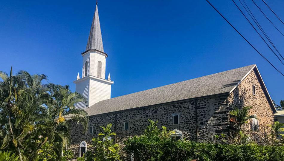 Kona Historical Site - Moku'aikaua Church