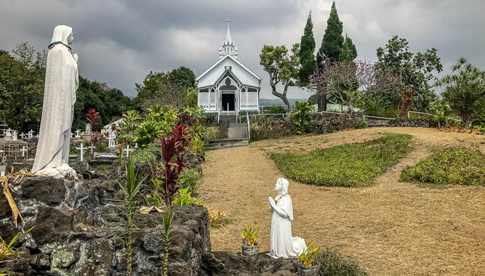 St Benedict Church also known as the Painted Church in Kailua Kona