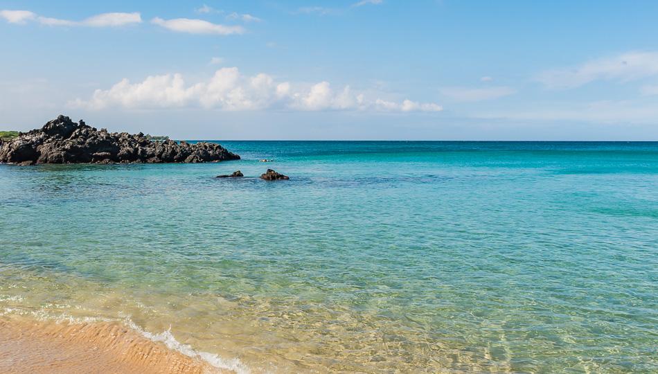 Beach 69 at Waialea Bay is a great snorkeling beach on the Big Island
