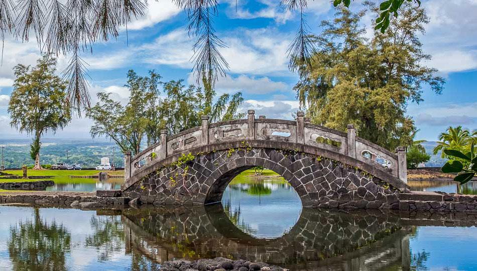 Liliuokalani Gardens Bridge