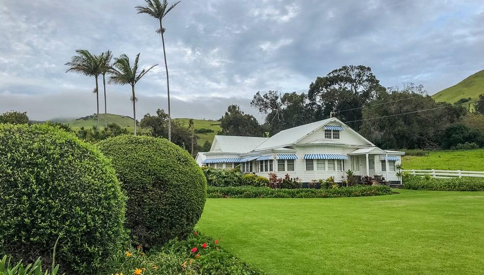 The Farm House at the Historic Anna Ranch in Waimea Hawaii