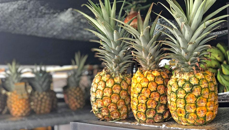 Kona Farmers Market Pineapples