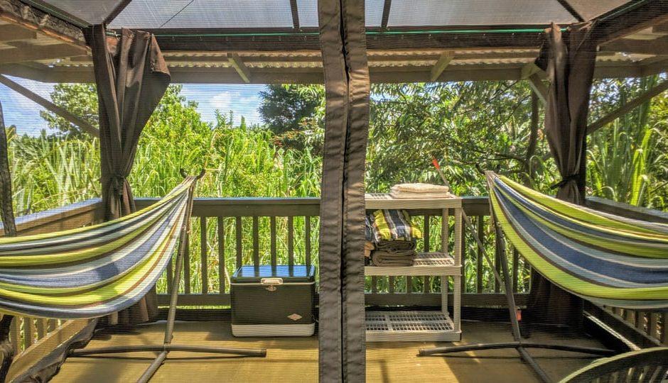 Hamakua Guesthouse And Camping Cabanas Big Island Guide