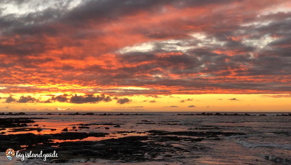 Kahaluu Beach Park Sunset
