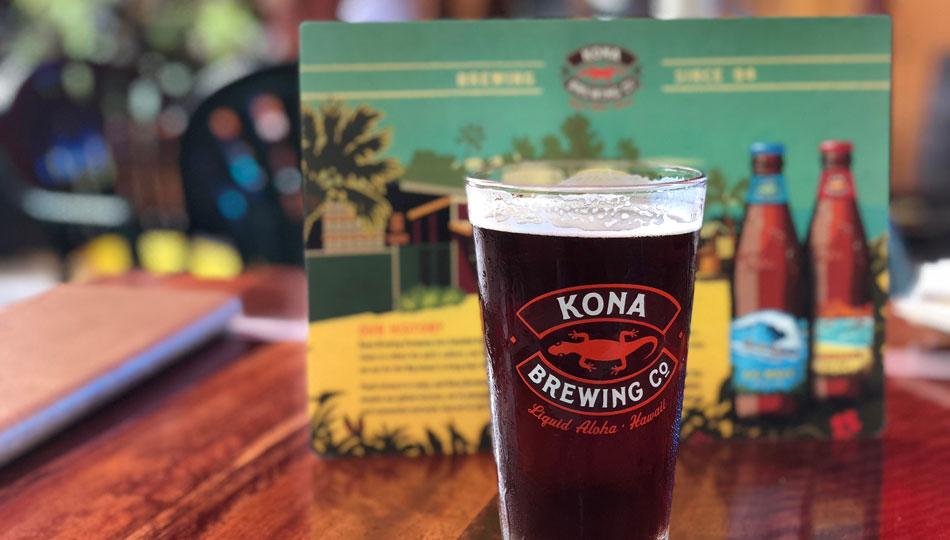 Kona Brewing Company Pipeline Porter Beer