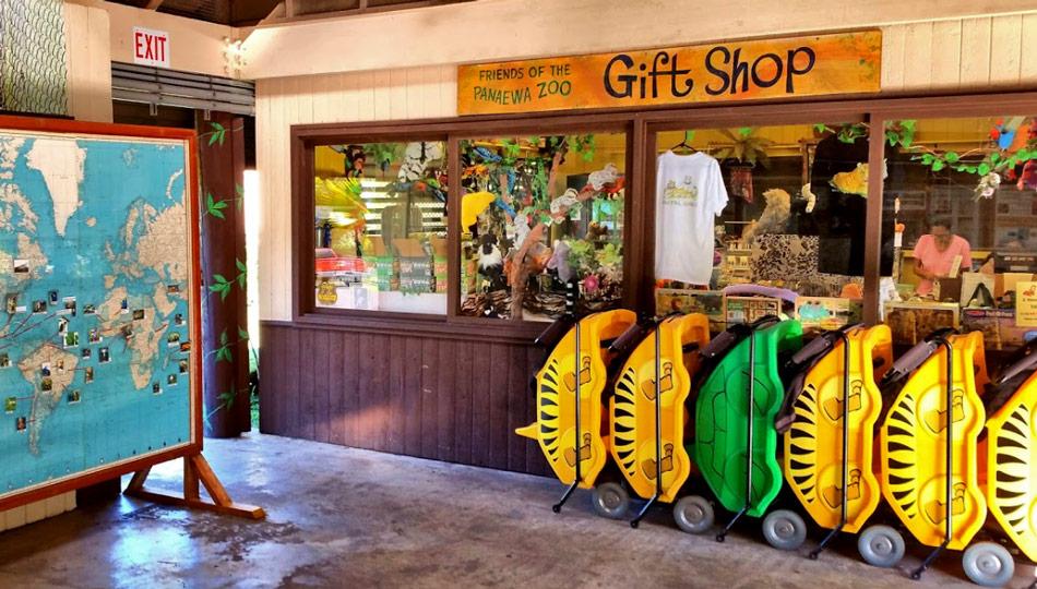 Panaewa Rainforest Zoo Gift Shop