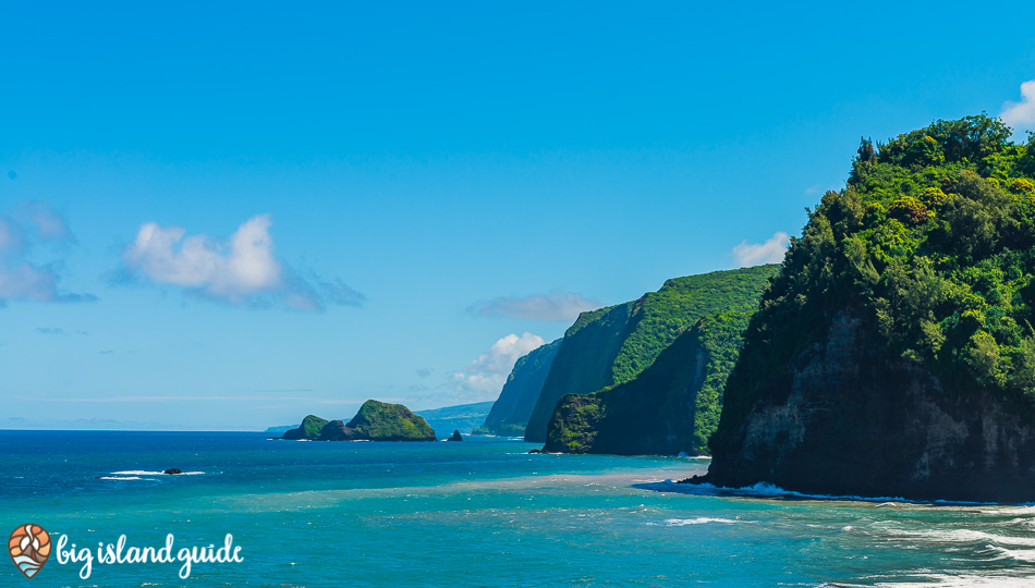 Northern Coast of the Big Island from Pololu Valley