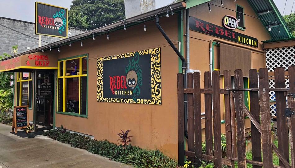 Rebel Kitchen Restaurant Building