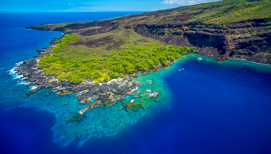Kealakekua Bay offers some of the best snorkeling on the Big Island