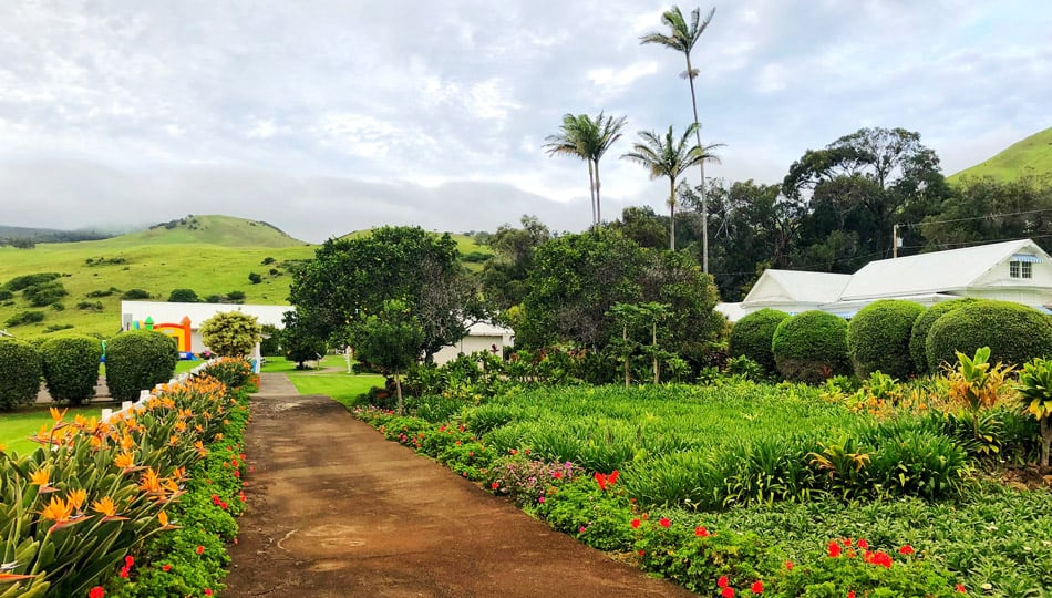The Grounds at the Historic Anna Ranch in Waimea Hawaii