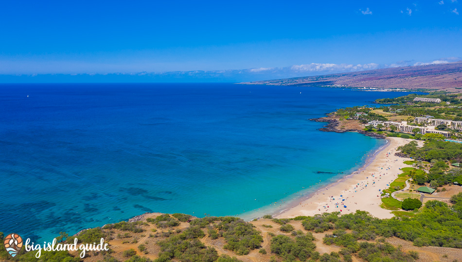 Aerial Photo of Hapuna Beach looking North