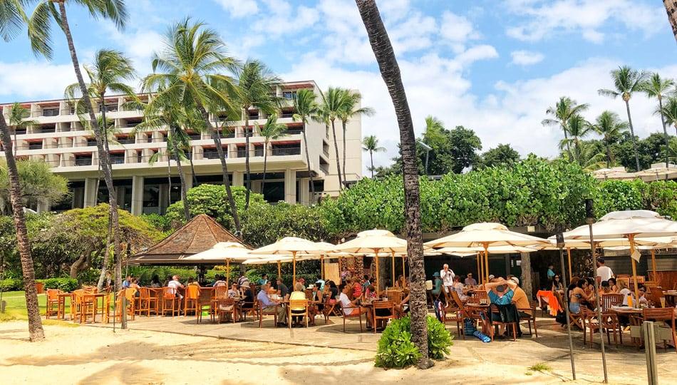 Hau Tree is one of our favorite Big Island Beach Bars