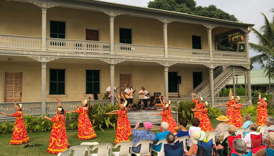 Cultural Festival at Hulihe'e Palace - a Kona Historical Site