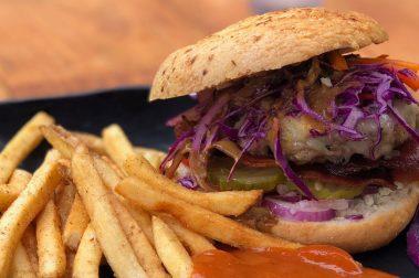 Rebel Kitchen Signature Hamburger