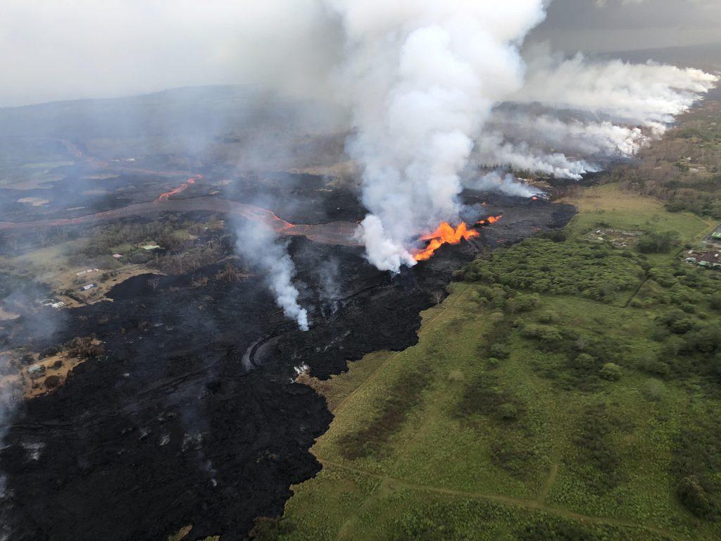 2018 Kilauea Eruption Fisure 8