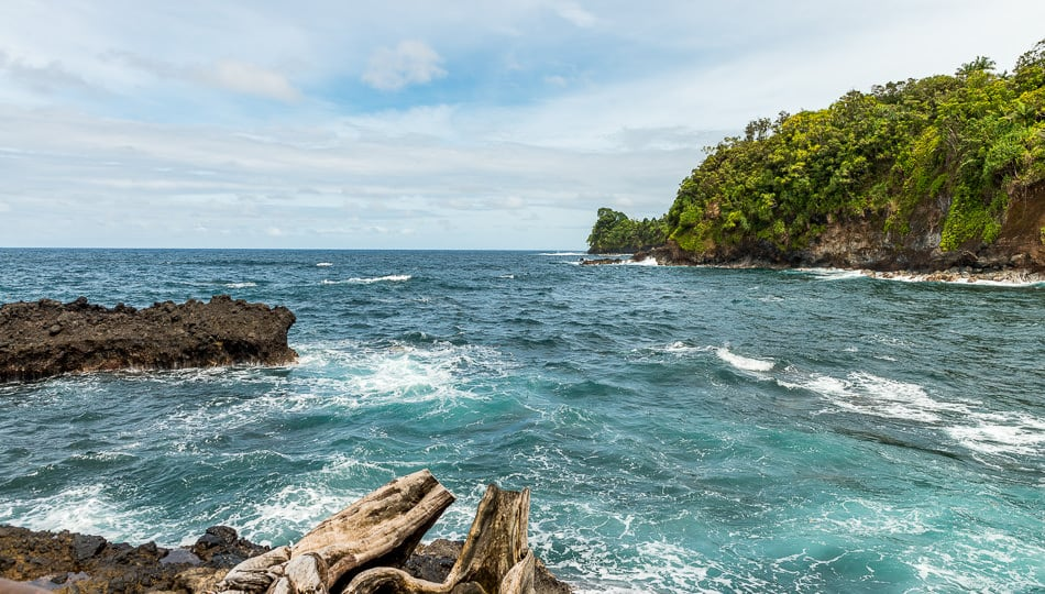 Onomea Bay at the Hawaii Tropical Botanical Garden