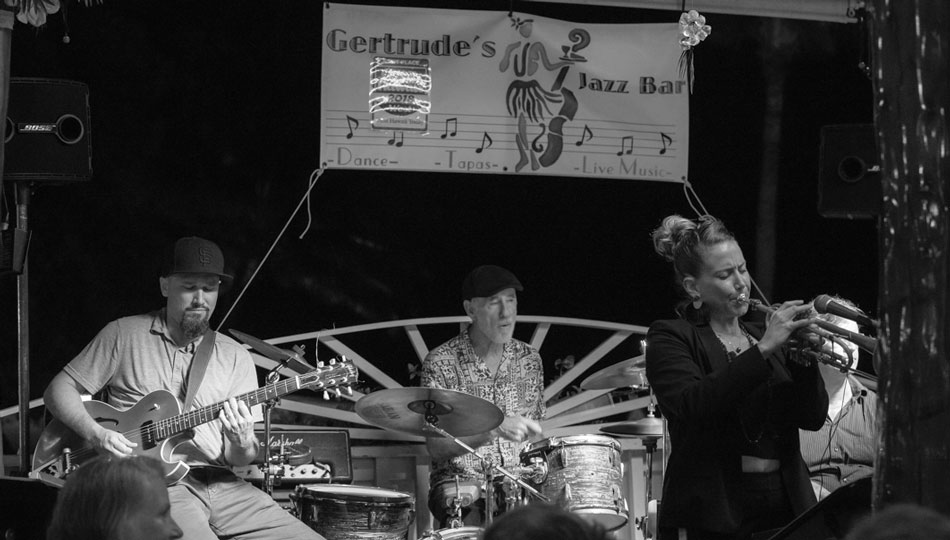 Gertrude's Jazz Bar musicians