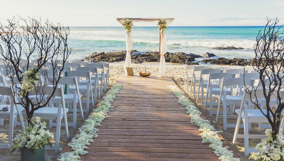 Fairmont Orchid Big Island Wedding Venue