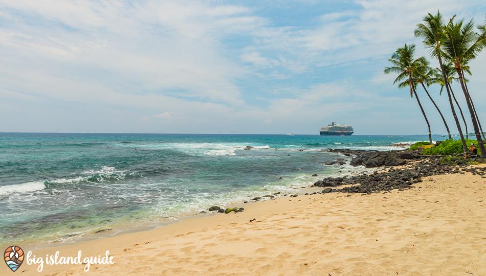 Honl's Beach Park in Kailua Kona Hawaii