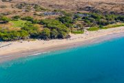 Aerial Photo of Hapuna Beach on the Island of Hawaii
