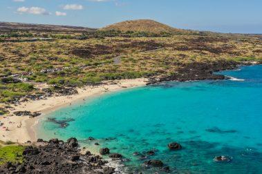 Aerial Photo of Maniniowali Beach at Kua Bay