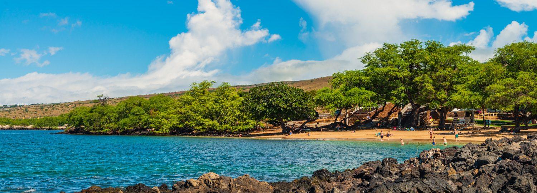 Spencer Beach Park on the Big Island of Hawaii