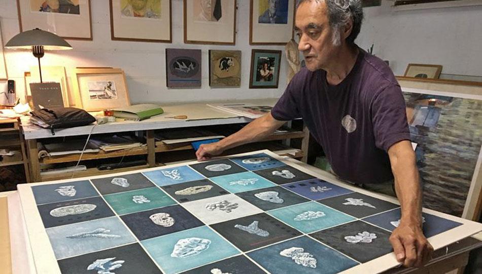 Studio 7 Fine Art Gallery Owner and Artist Hiroki Morinoue