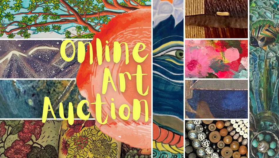 South Kona Artists Collective Art Auction Images